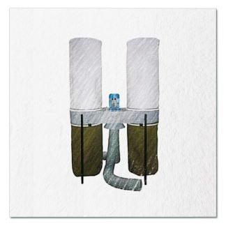 Пылеулавливающий агрегат УВП-3000. Комплектующие.