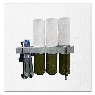 Пылеулавливающий агрегат УВП-5000. Комплектующие.