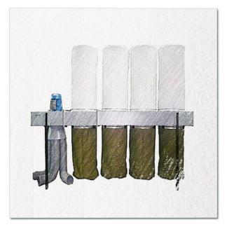 Пылеулавливающий агрегат УВП-7000. Комплектующие.