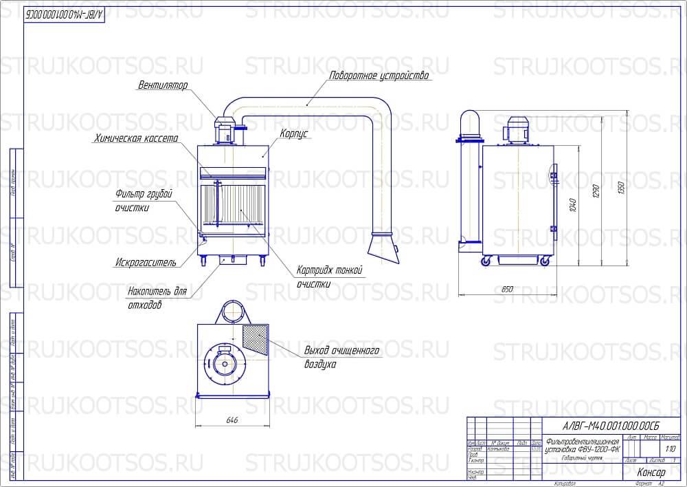 Схема ФВУ-1200-ФК17